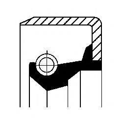 Уплотнительное кольцо вала, приводной вал CORTECO 49355275