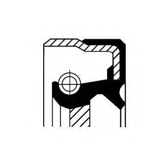 Уплотняющее кольцо, ступенчатая коробка передач CORTECO 01034075B