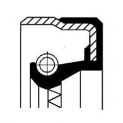 Уплотняющее кольцо, дифференциал CORTECO 01019286B