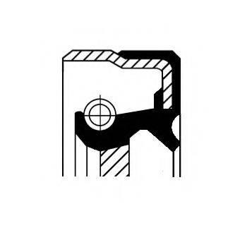 Уплотняющее кольцо, дифференциал CORTECO 01019477B