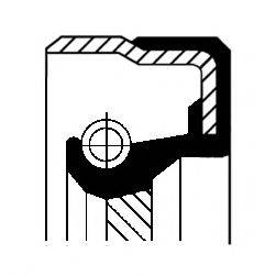 Уплотняющее кольцо, ступенчатая коробка передач; Уплотняющее кольцо, раздаточная коробка CORTECO 01027959B