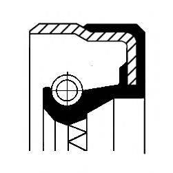 Сальник ступицы колеса CORTECO 01033874B
