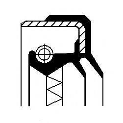 Уплотняющее кольцо, ступенчатая коробка передач; Уплотняющее кольцо, раздаточная коробка CORTECO 01030451B