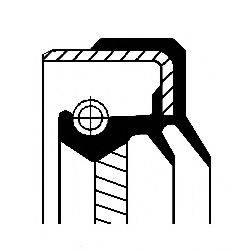 Уплотняющее кольцо, дифференциал; Уплотняющее кольцо, раздаточная коробка CORTECO 01035432B