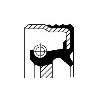 Уплотнительное кольцо CORTECO 01032068B