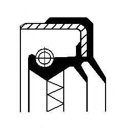 Сальник ступицы колеса CORTECO 01017013B