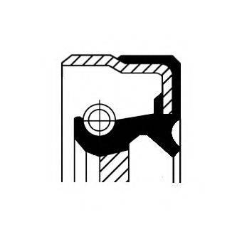 Уплотнительное кольцо CORTECO 01016938B