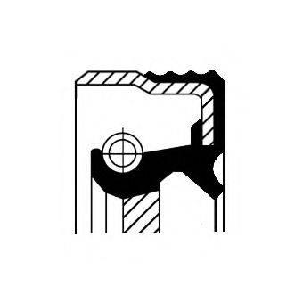 Уплотняющее кольцо, ступенчатая коробка передач CORTECO 01025674B