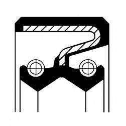 Уплотнительное кольцо CORTECO 01019951B