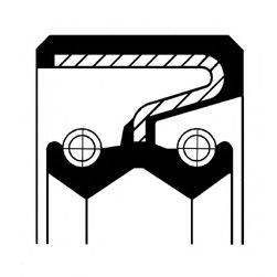 Уплотняющее кольцо, ступенчатая коробка передач; Уплотняющее кольцо вала, автоматическая коробка передач CORTECO 01030118B