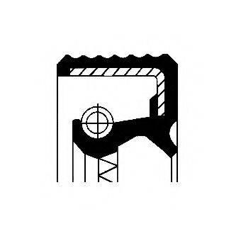 Уплотнительное кольцо CORTECO 01031702B