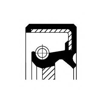 Уплотняющее кольцо вала, привод спидометра CORTECO 01033751B