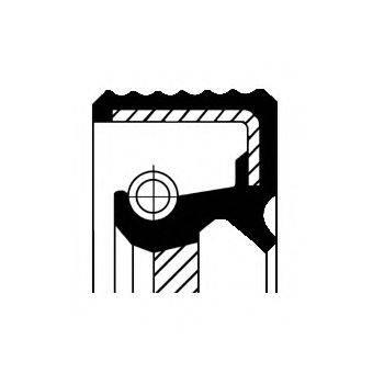 Уплотняющее кольцо, ступенчатая коробка передач CORTECO 01034078B
