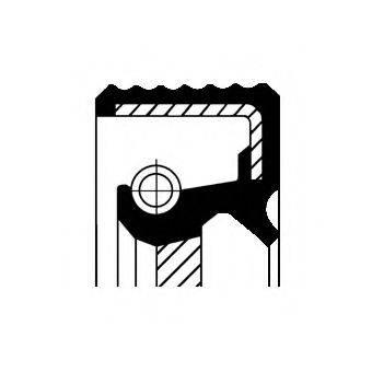 Уплотняющее кольцо, ступенчатая коробка передач CORTECO 01025576B