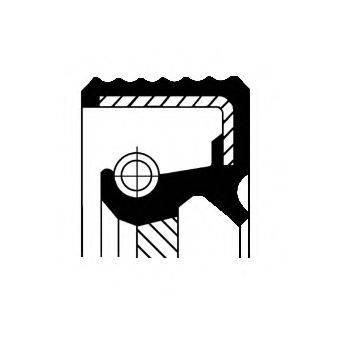 Уплотняющее кольцо, ступенчатая коробка передач CORTECO 01033868B