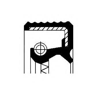 Уплотняющее кольцо, дифференциал CORTECO 01020680B