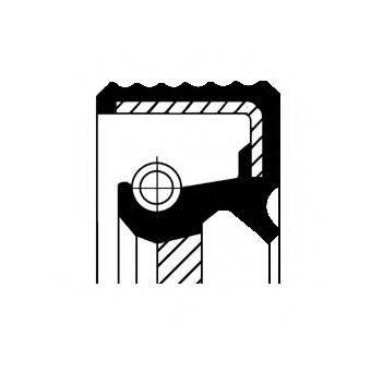 Уплотняющее кольцо, раздаточная коробка CORTECO 01035169B