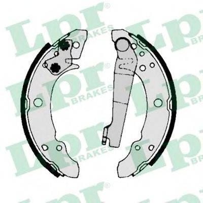 Тормозные колодки барабанные LPR 00140