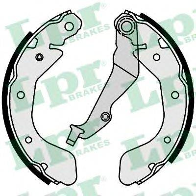 Тормозные колодки барабанные LPR 01001