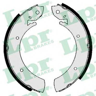 Тормозные колодки барабанные LPR 01150