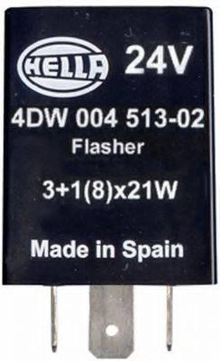 Прерыватель указателей поворота; Прерыватель указателей поворота HELLA 4DW 004 513-021