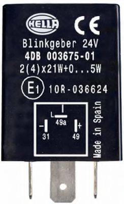 Прерыватель указателей поворота; Прерыватель указателей поворота HELLA 4DB 003 675-011