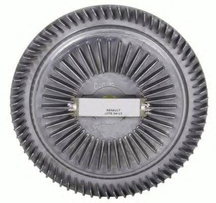 Сцепление вентилятора радиатора NRF 49040