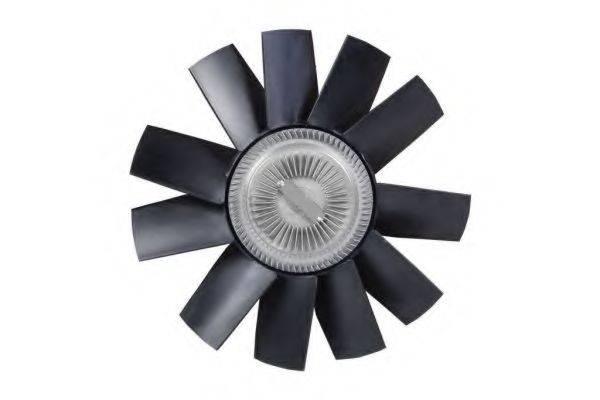 Сцепление вентилятора радиатора NRF 49563