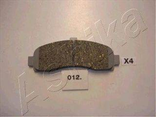 Тормозные колодки ASHIKA 50-00-012