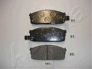 Тормозные колодки ASHIKA 50-01-141