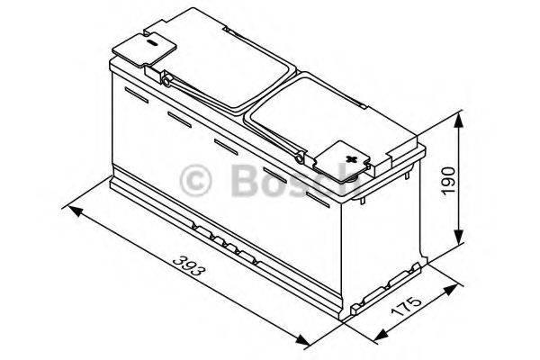 Аккумулятор автомобильный (АКБ) BOSCH 0 092 S5A 150