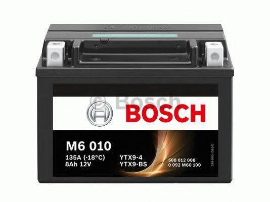 Аккумулятор автомобильный (АКБ) BOSCH 0 092 M60 100