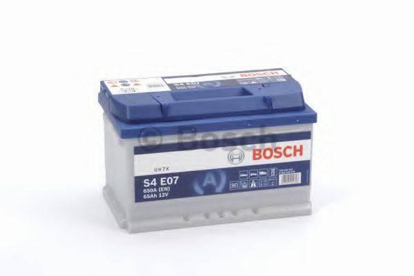 Аккумулятор автомобильный (АКБ) BOSCH 0 092 S4E 070