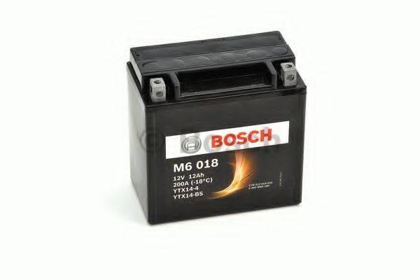 Аккумулятор автомобильный (АКБ) BOSCH 0 092 M60 180