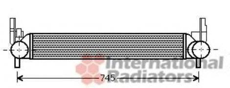 Интеркулер VAN WEZEL 49004039