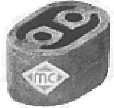 Крепление глушителя METALCAUCHO 00281