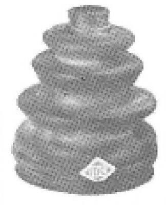 Пыльник ШРУСа METALCAUCHO 00493