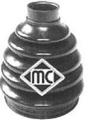 Комплект пыльника ШРУСа METALCAUCHO 01155