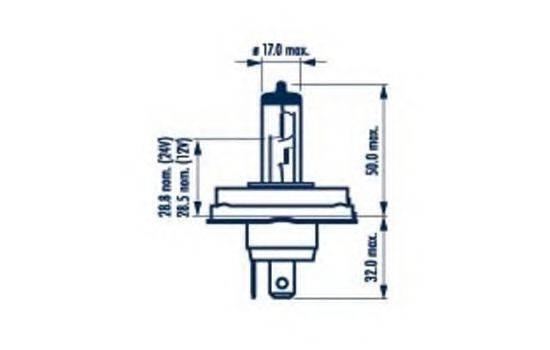 Лампа накаливания NARVA 48121