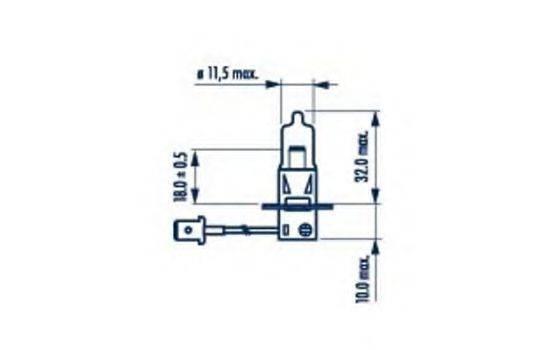 Лампа накаливания NARVA 48335