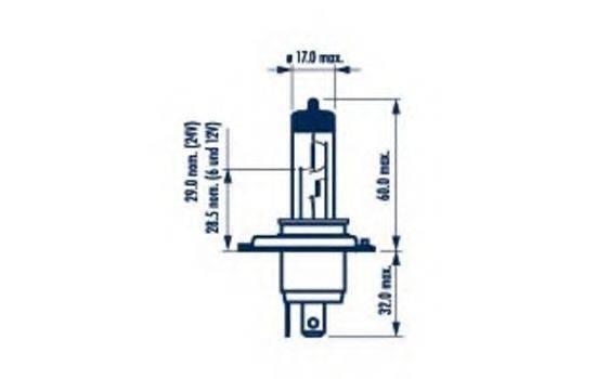Лампа накаливания NARVA 48861