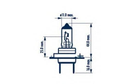 Лампа накаливания NARVA 48329