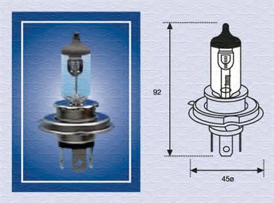 Лампа накаливания MAGNETI MARELLI 002156100000