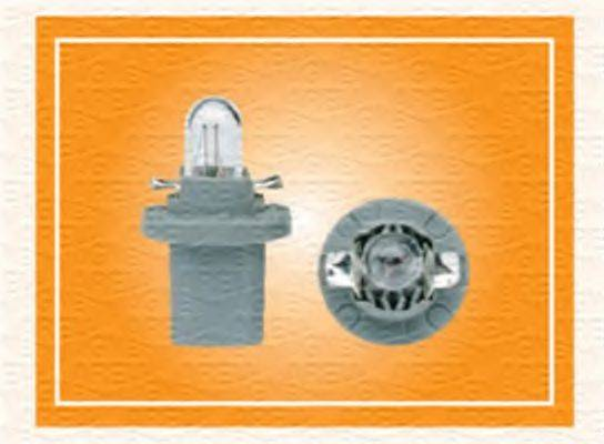 Лампа накаливания, освещение щитка приборов; Лампа накаливания MAGNETI MARELLI 003724100000