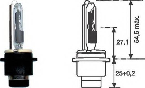 Лампа накаливания MAGNETI MARELLI 002542100000
