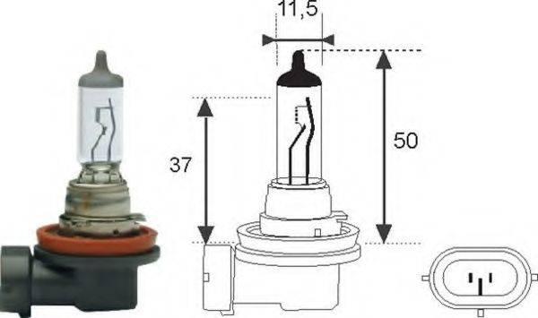 Лампа накаливания MAGNETI MARELLI 002549100000