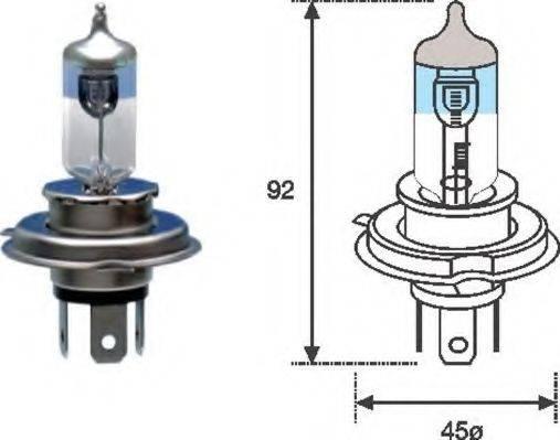 Лампа накаливания MAGNETI MARELLI 002585100000