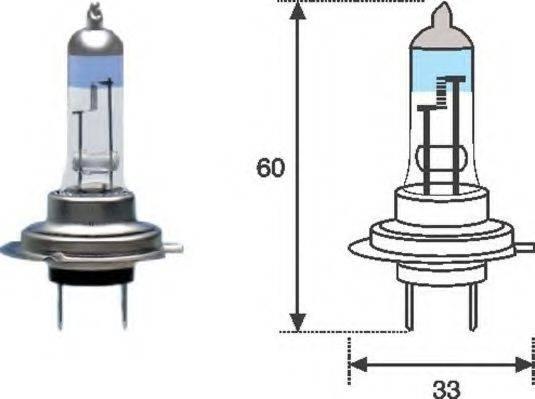 Лампа накаливания MAGNETI MARELLI 002586100000