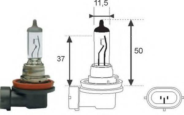 Лампа накаливания MAGNETI MARELLI 002547100000