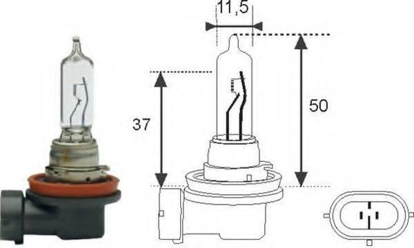 Лампа накаливания MAGNETI MARELLI 002548100000